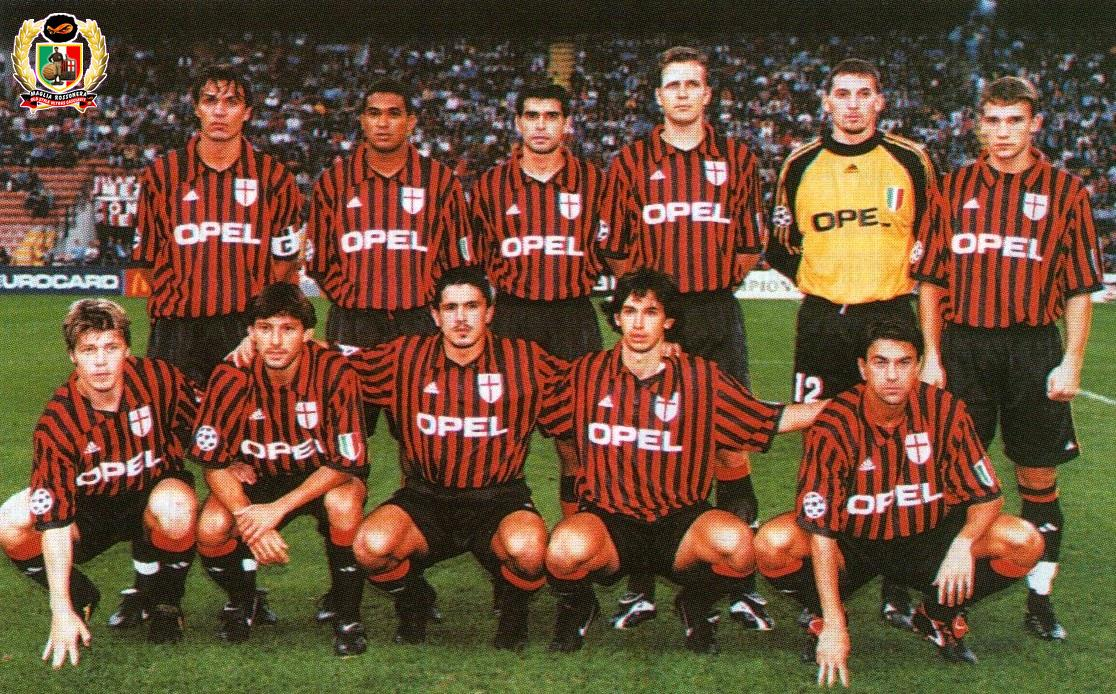 Image result for gattuso joins milan 1999