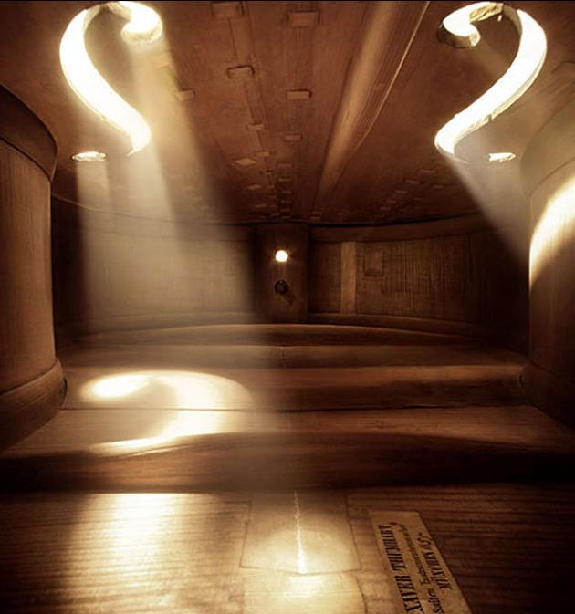 Inside a violin http://t.co/CdhBiBOQid