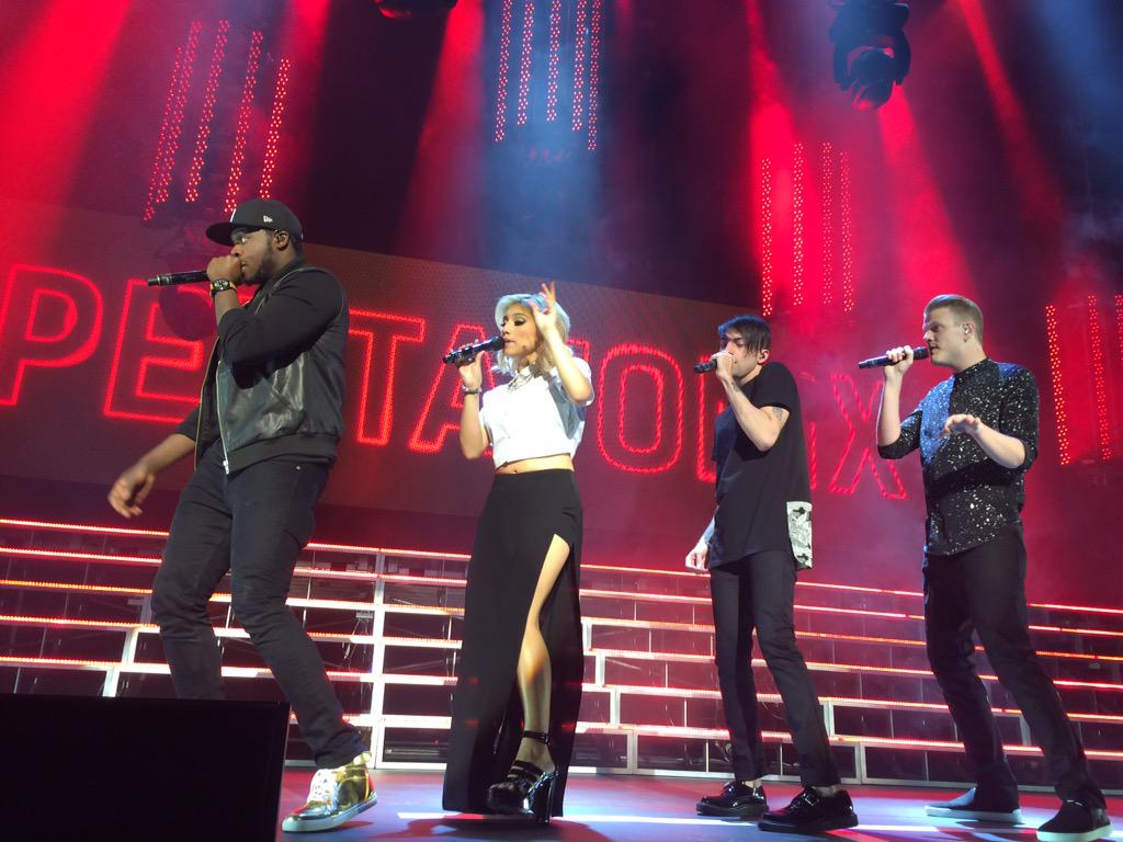 THEY ARE KILLING IT!! @PTXofficial #PTXLV #onmywayhometour #OnMyWayHomeProject http://t.co/LXKL9ATaFP