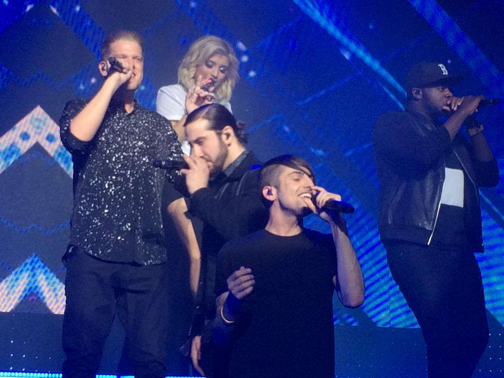 THANK YOU @PTXofficial FOR AN AMAZING SHOW!! LOVE U
