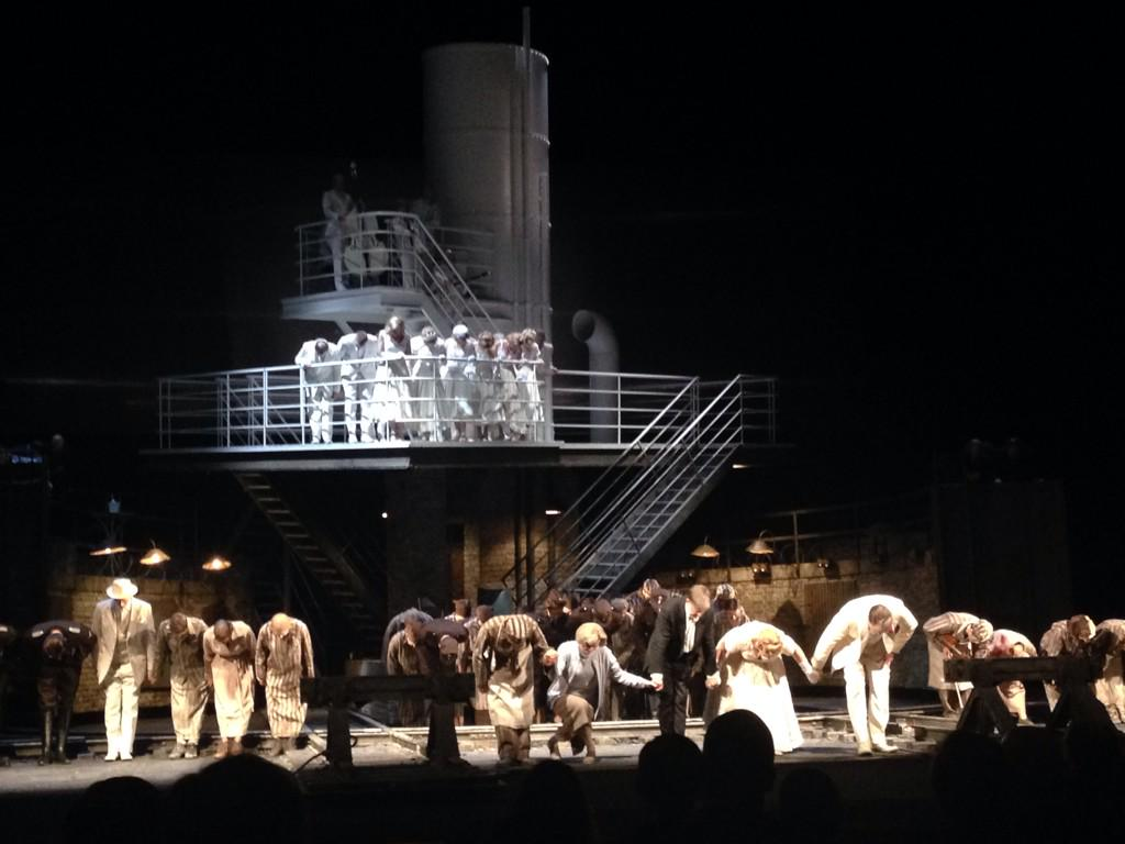 A potently talented cast @LyricOpera The Passenger take a bow. I bow to them, for the tears I shed belonged to them. http://t.co/na80h55oiw