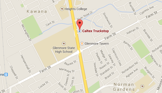 For people in Rockhampton: The Caltex Truckstop, Yaamba Road, North Rockhampton, is now open for those who need fuel. http://t.co/yLPQfTjeKh