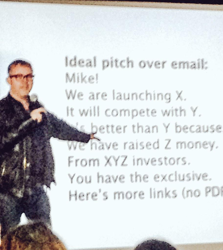 "Want to get on @TechCrunch? @mikebutcher explains how. http://t.co/wKjOiLPv7n OR pro tip: be smart & say ""I'll sponsor your next event!"" ;-)"