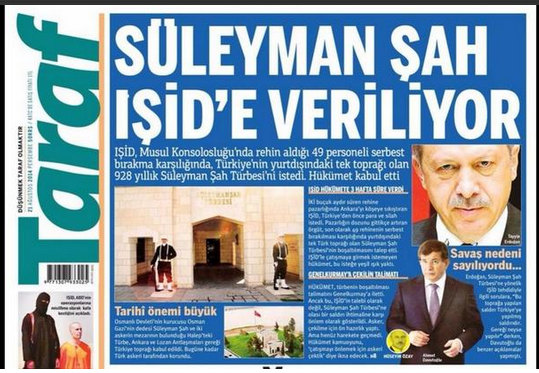Taraf gazetesi Sah Süleyman, 21 Agustos 2014