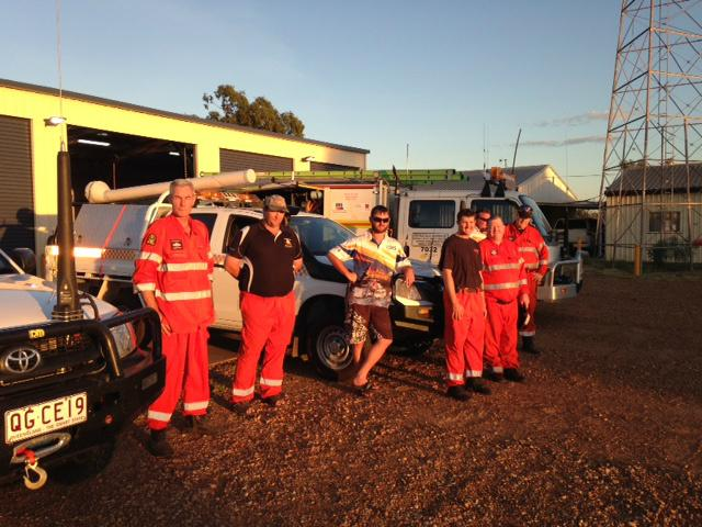 RT @JacMacABC: Help is on it's way - SES crews from the Central Highlands!  We welcome you with open arms. #TCMarcia http://t.co/MrIhOo7A7q