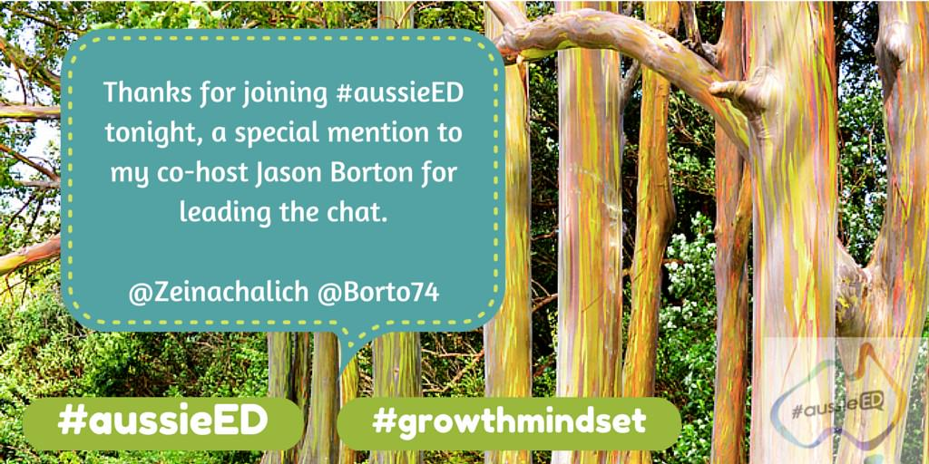 Thanks for joining #aussieED special thanks to @Borto74 who did a brilliant job in the hot seat! Have a gr8 week! http://t.co/wqkyh8vqcK