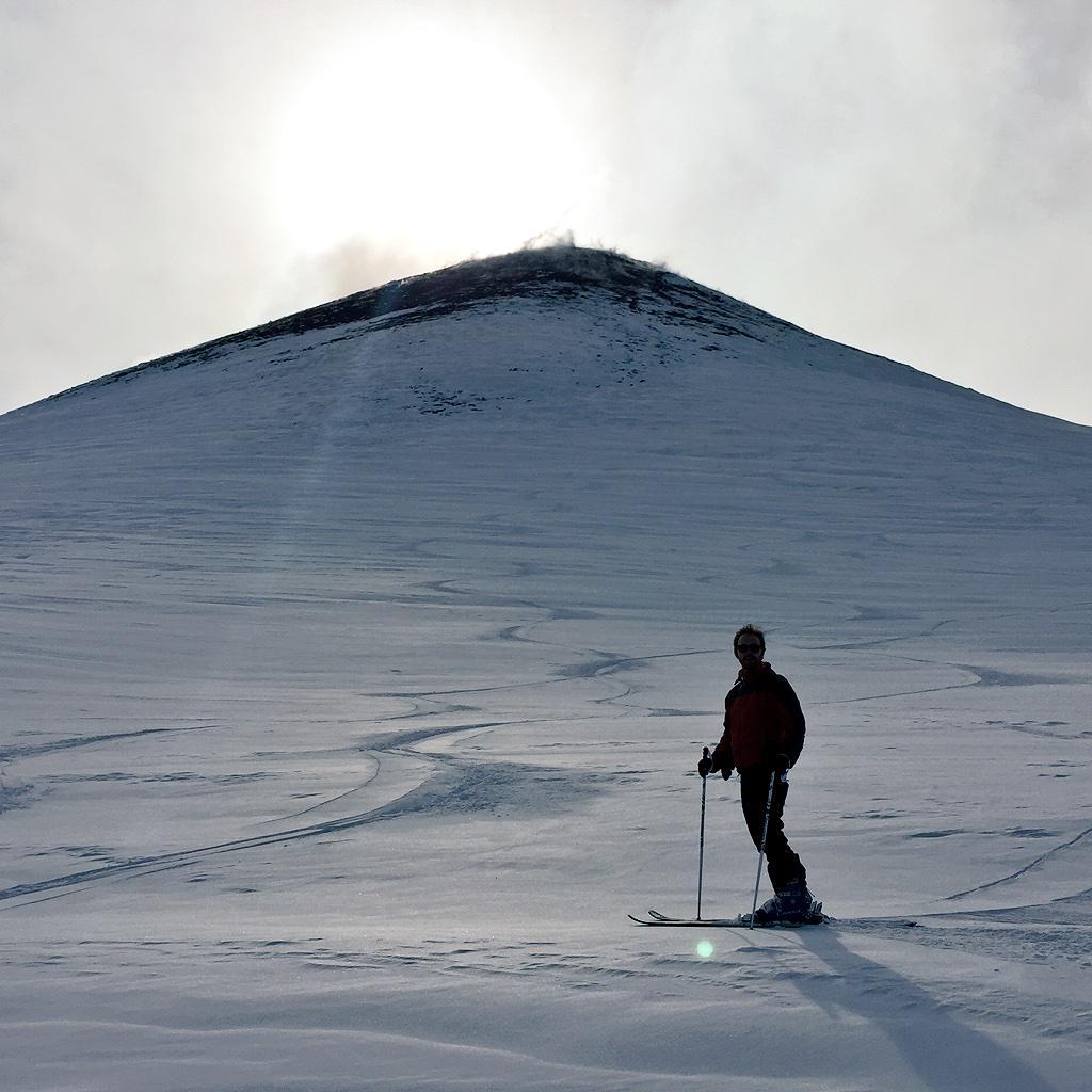 Skiing on a live #volcano, where else but in #Sicily? #sicilianwinter #Etna #sbtc #SATW @ThinkVillas
