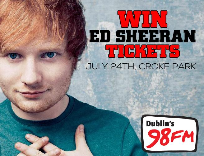 4th chance  to qualify for Ed Sheeran tickets. RT & follow us for your chance to win! #98FMEdCrokertickets http://t.co/mx4l0kJChF
