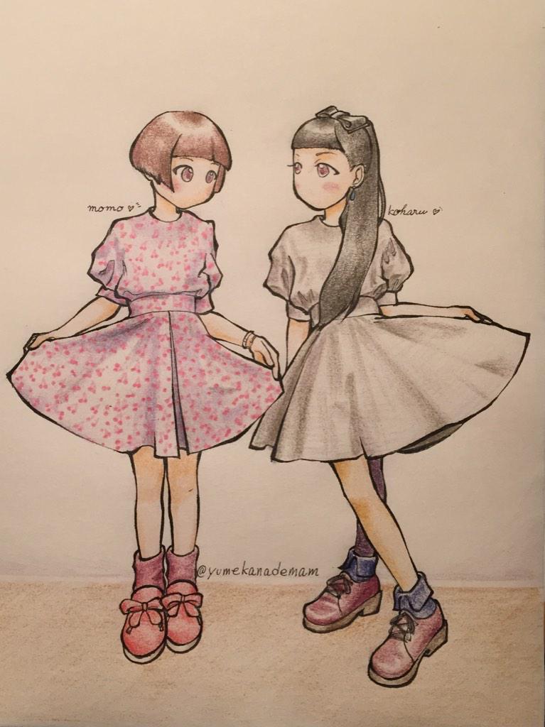 Tinyワンピの松永姉妹♪ #チャランポランタン #二次元チャランポ