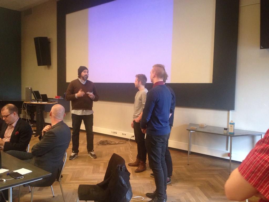@ErlendHoyersten og de tre dygtige vindere af #ocd15 Tak for en fantastisk weekend til deltagere, jury og sponsorere! http://t.co/ByoD8sE4oB