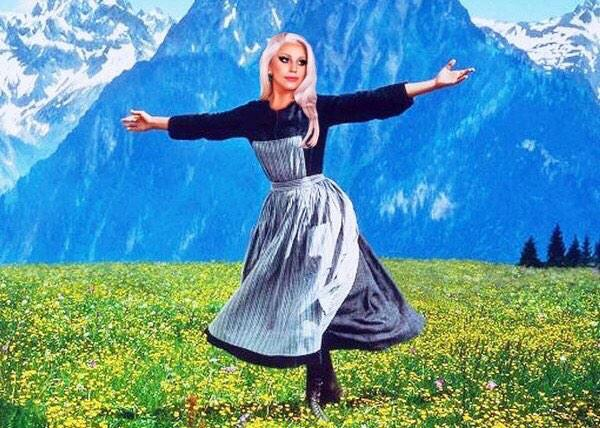 The Sound of Music @LadyGaga @TheAcademy http://t.co/FKDTkGdyFh