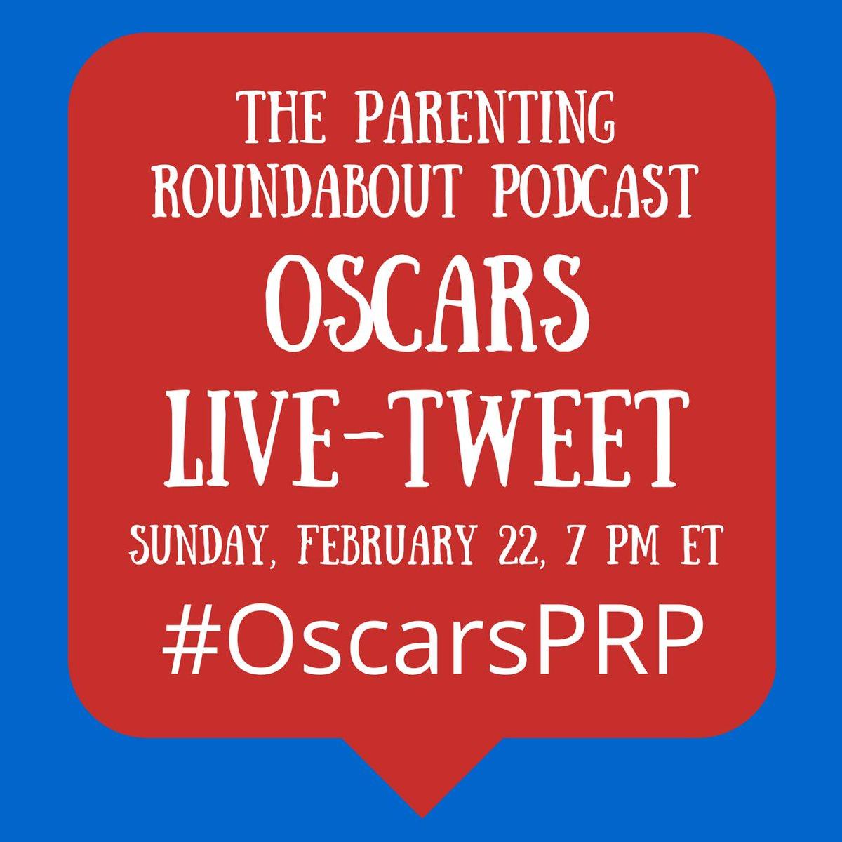 Join @mamatude @AboutFamilyFit @AmandaMorin @Inclusive_Class @KathyCeceri for an Oscars live-tweet tonight #OscarsPRP http://t.co/n1LC0MxCvl