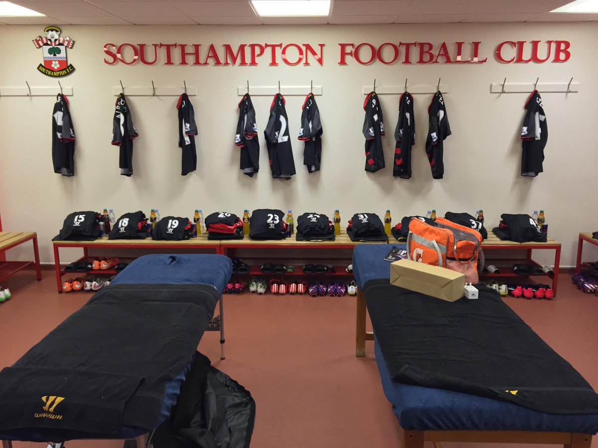 The Lfc Dressing Room at