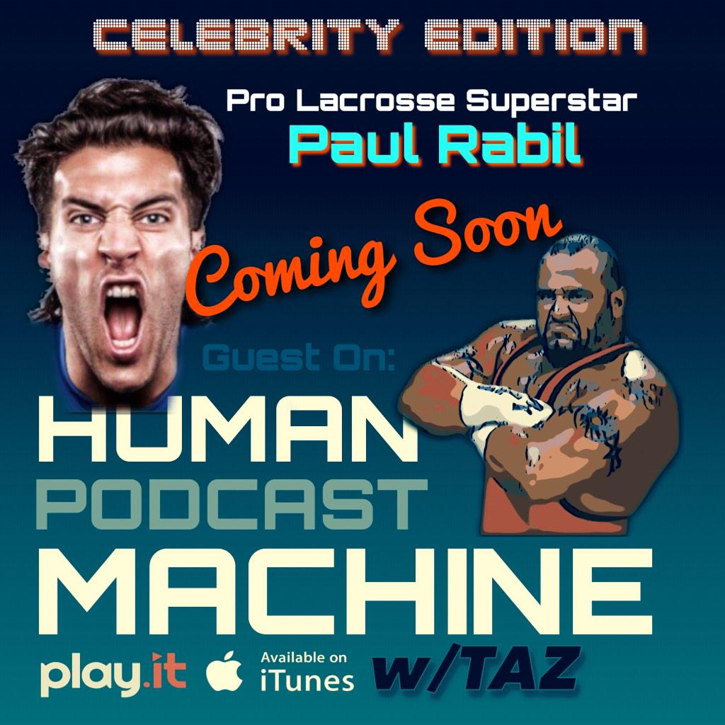 SOON on #HPM: NEW Celebrity Edition Shows w/guest talk Pro Wres- @PaulRabil the @KingJames of Pro Lacrosse! @playit http://t.co/Zx9CvjguuN