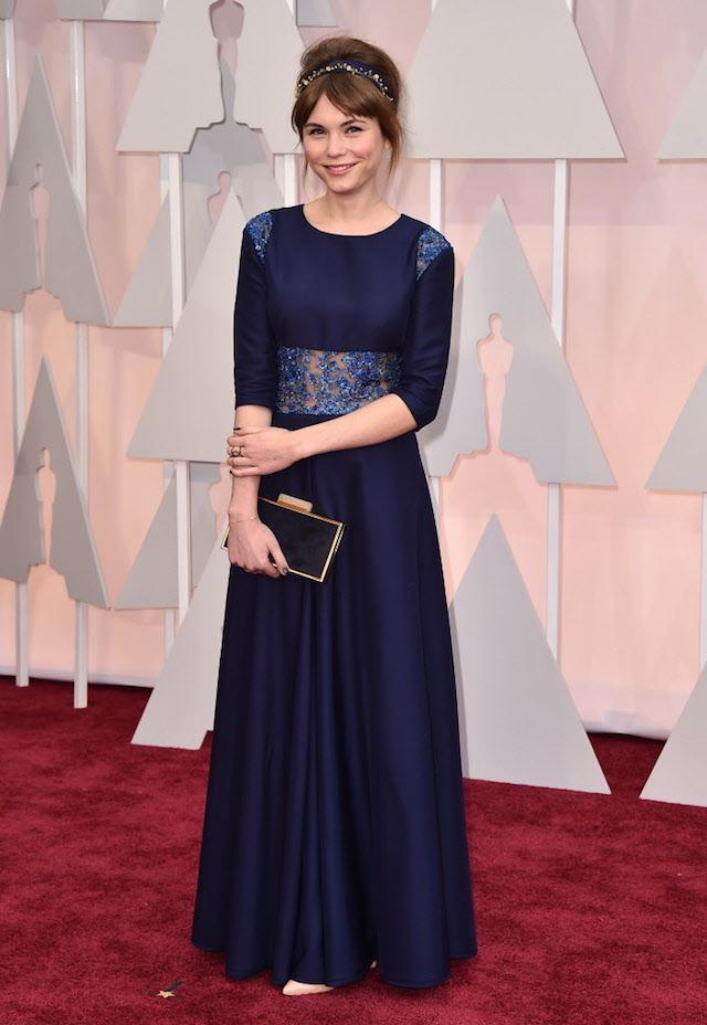 "Agata Trzebuchowska of the foreign film nominee ""Ida."" (AP) #Oscars #Oscars2015 #RedCarpet http://t.co/k5lt2YWGeu"
