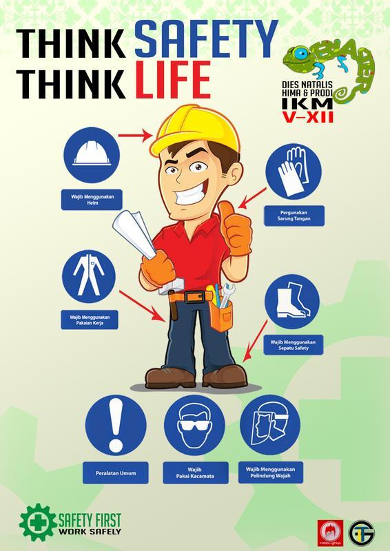 hima ikm htp on twitter poster kesehatan 2 nama robbi d tema keselamatan dan kesehatan kerja