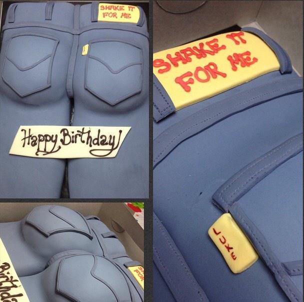 Luke Bryans Butt On Twitter Coolest Birthday Cake Ever Made