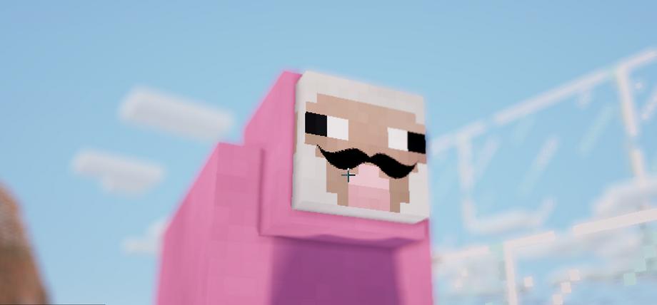 Pink sheep explodingtnt - photo#3