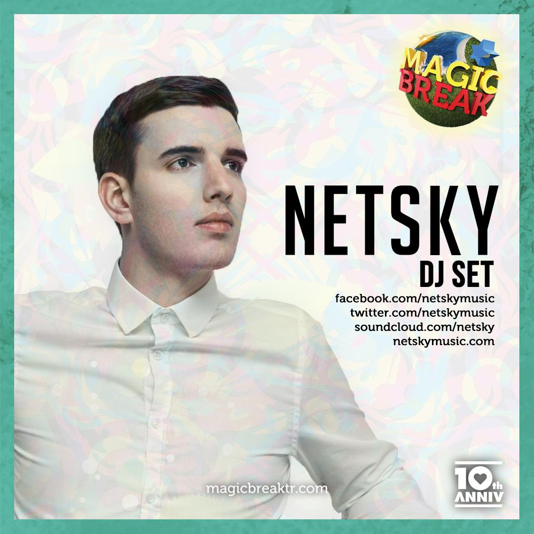 World renowned artist for Drum & Bass, legendary @netskymusic, will be hitting #MagicBreak mainstage! #MagicLineup http://t.co/BSmCKkLe4Y