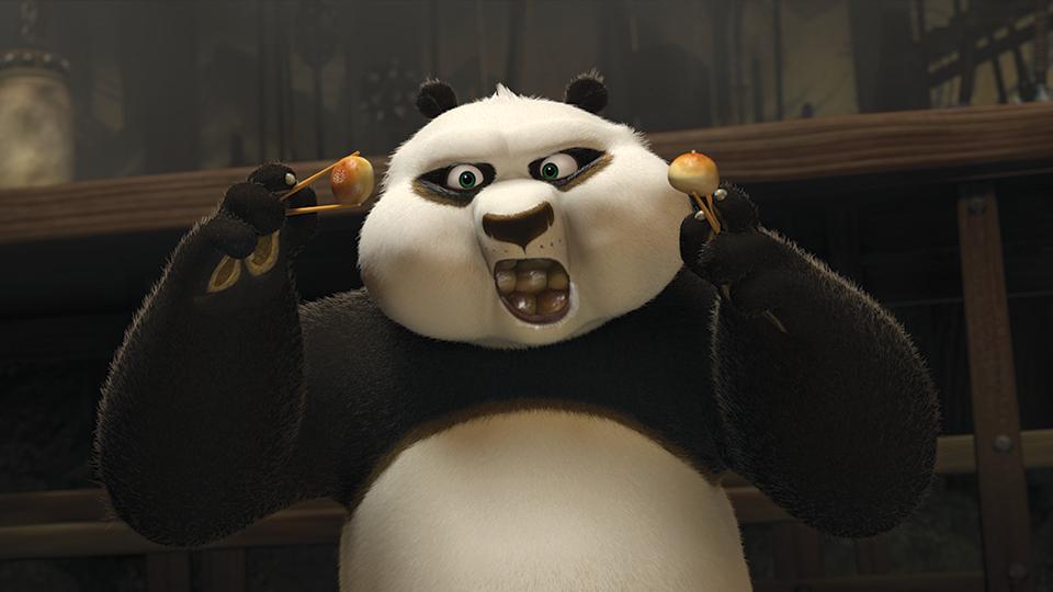 Kung Fu Panda Eating Kung Fu Panda Po Eatin...