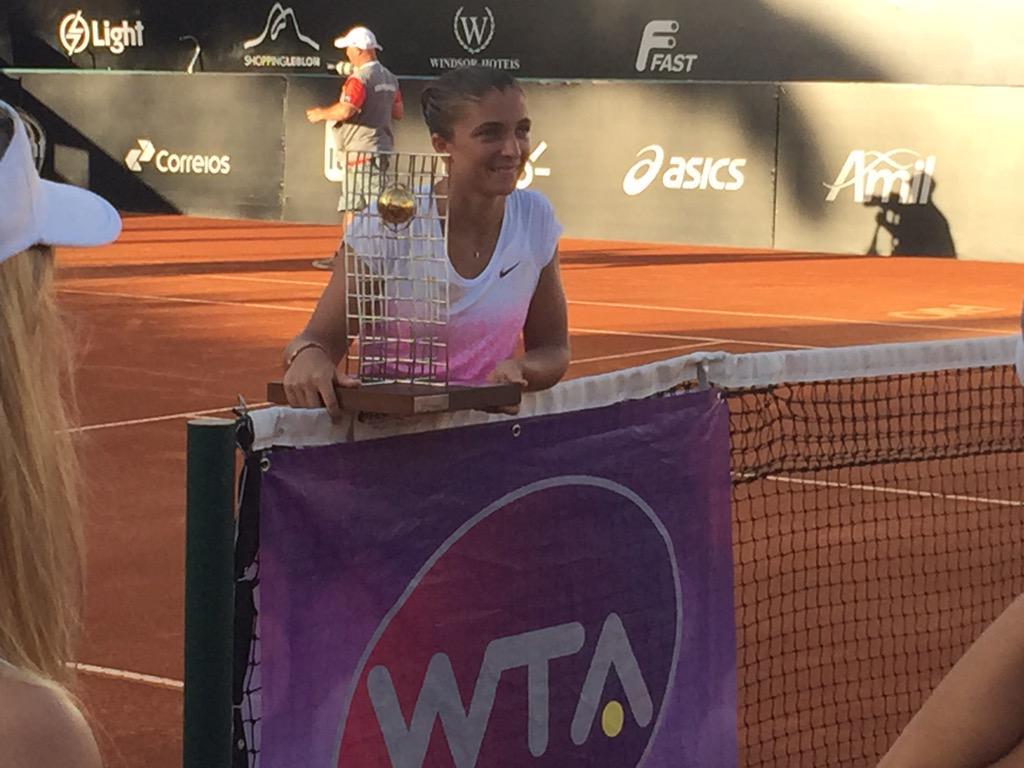 Sara Errani vince in Brasile il suo ottavo titolo WTA