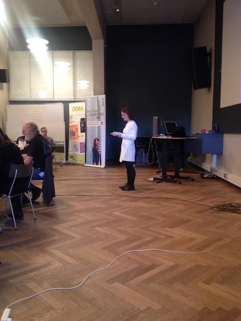 #ocd15 var så heldige at få @AnneNygaardRV på besøg! Hun præsent. juryens konklus. og egne seje ambitioner for Aarhus http://t.co/QLKdlJ7BQO