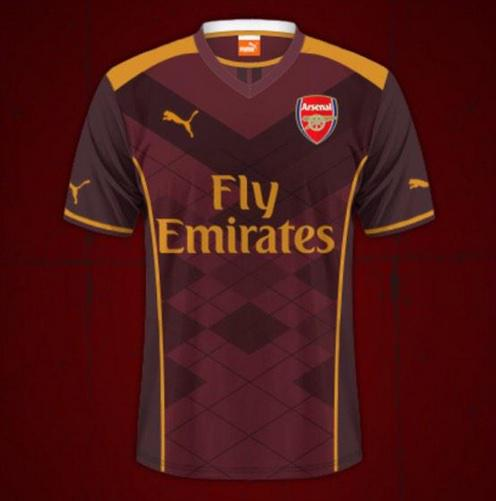 Photos  Leaked Images Of Arsenal s 2015 16 Away   3rd Kits  530eaaa4d