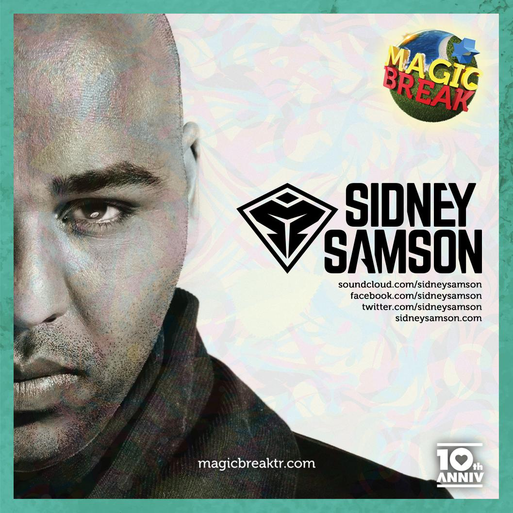 Offering a wide range of RnB tracks, incredible Dutch act @sidneysamson will be another engaging name at #MagicBreak http://t.co/rDhov1DRCW