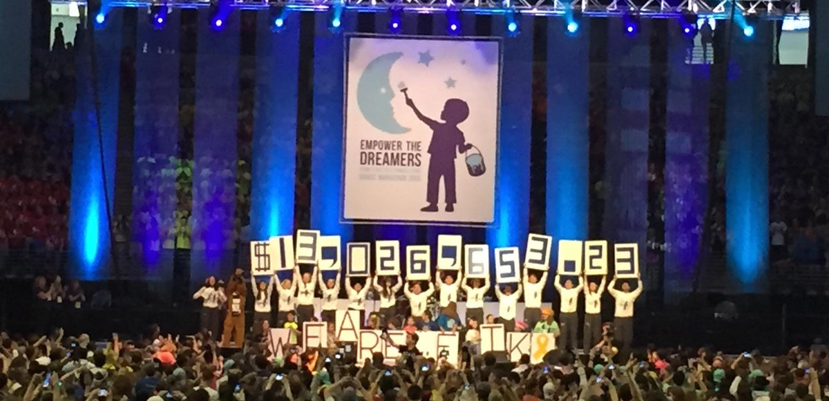 #THON2015 raised $13,026,653.23 for the fight against pediatric cancer! http://t.co/6uZtIWlABl