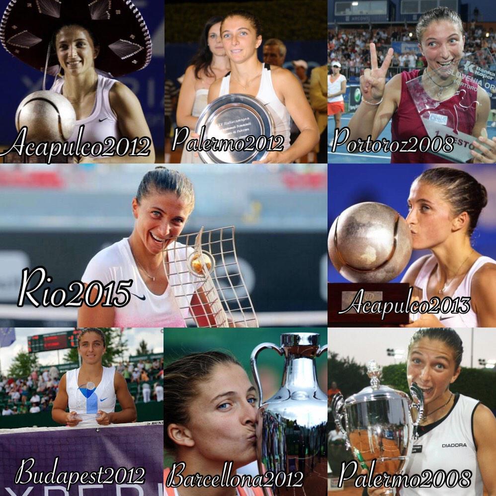 Gli otto successi di Sara Errani (tennis femminile)