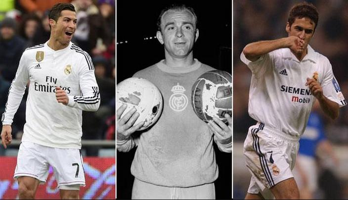 Криштиану Роналду вышел на третье место в списке бомбардиров Реала за всю историю - изображение 1