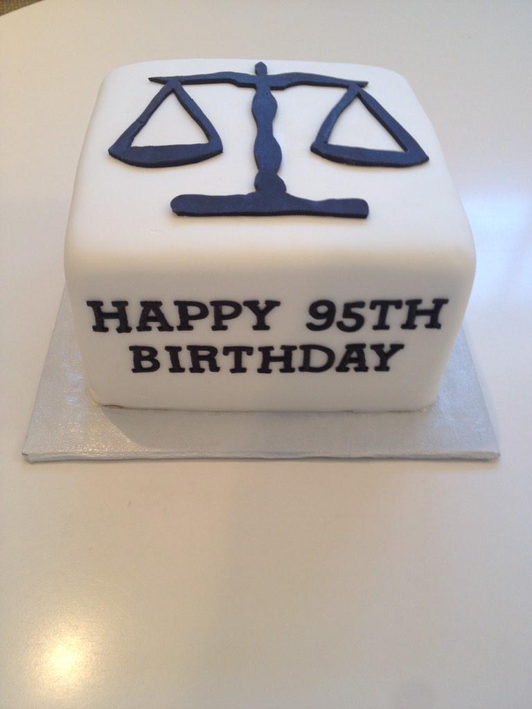 Top Tier Cakes On Twitter 95th Birthday Cake For A Lawyer Tco 5HNI65RAy7