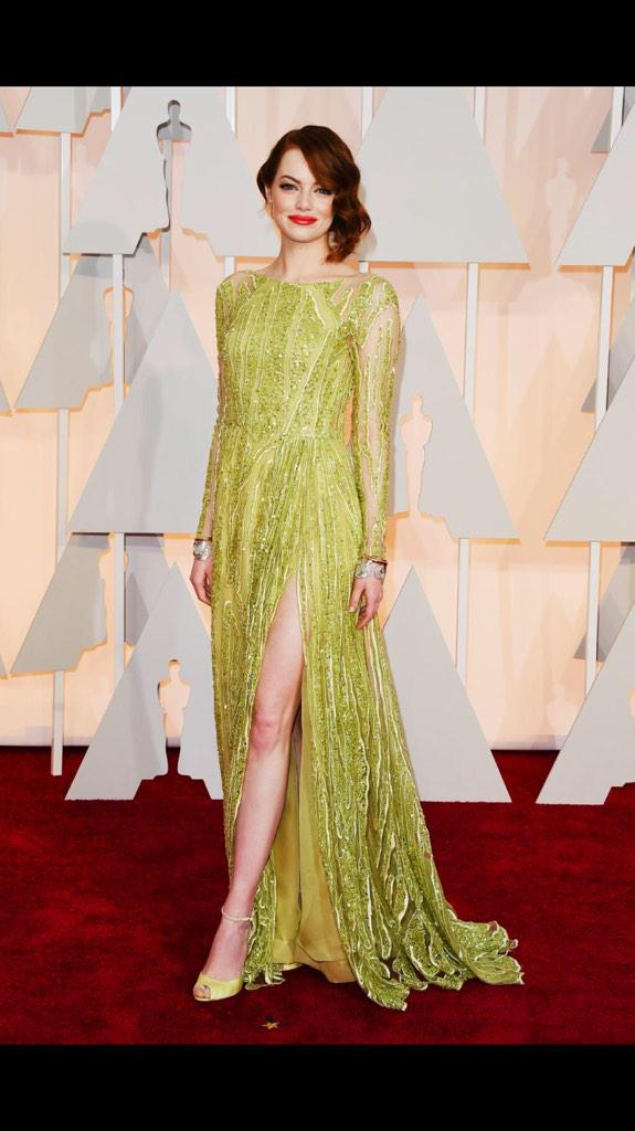 #EmmaStone NEVER disappoints me. Thank you Emma