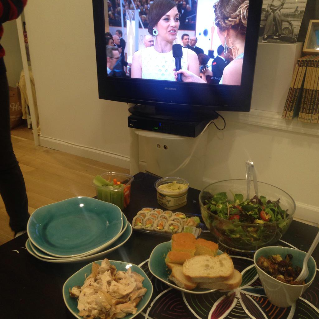 Get on our #Oscars feast level