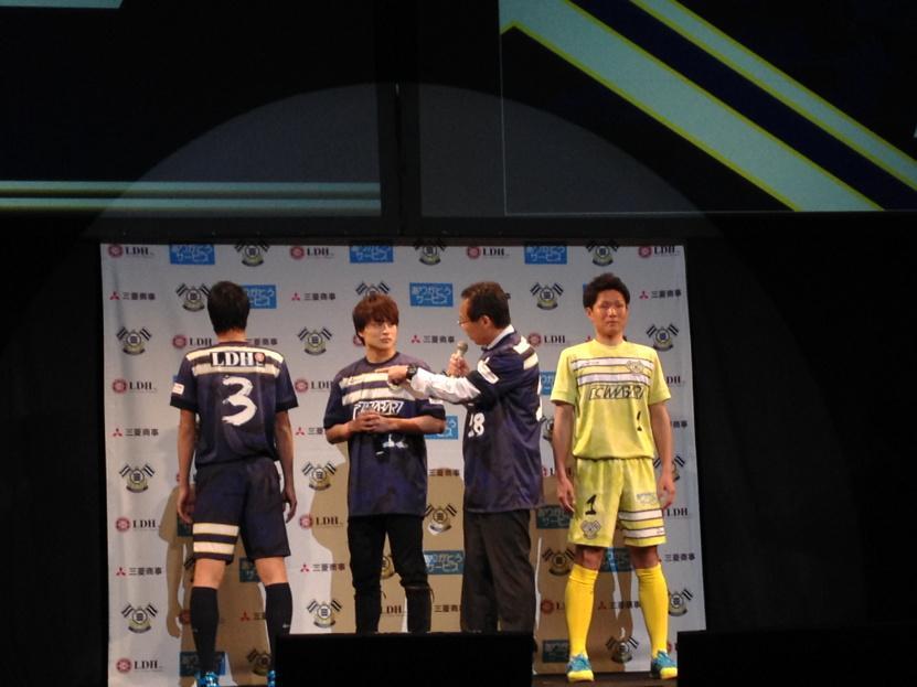 スペシャルゲストは亜嵐さん。 http://t.co/Ap9kDIP6Qc