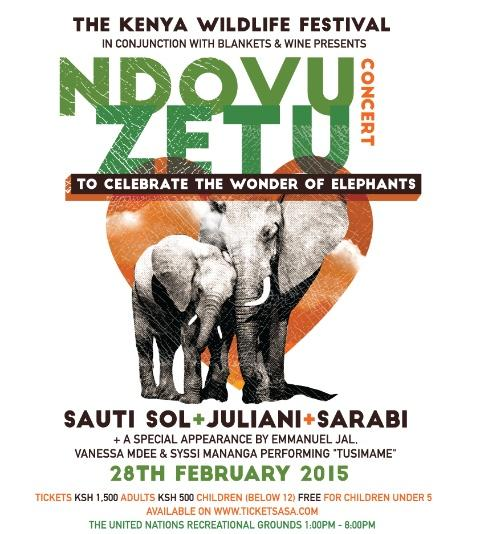 Together we can make a difference. To all poachers & illegal hunters, HANDS OFF OUR ELEPHANTS! #NdovuZetu Concert http://t.co/veJNbnXS92