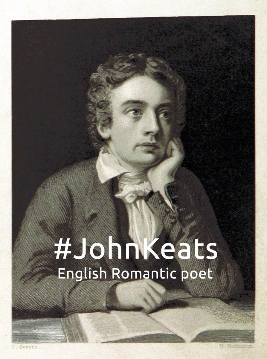 romantic era poet john keats