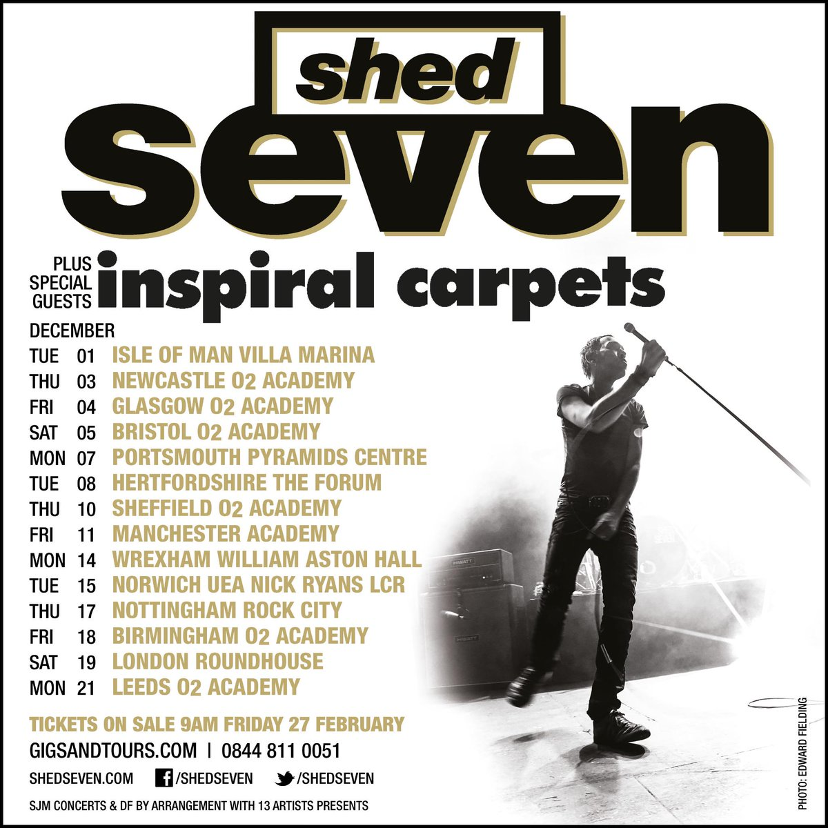 DECEMBER 2015 TOUR with guests INSPIRAL CARPETS: Back on the road again! Full details at http://t.co/PJLcPtMiZU http://t.co/9BWj4g46mG