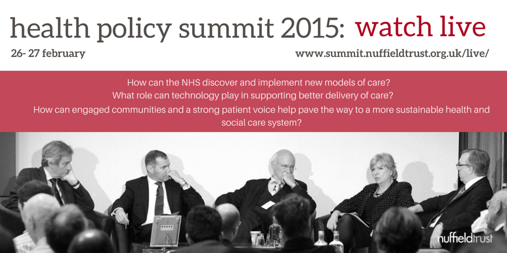 Thumbnail for Health Policy Summit 2015