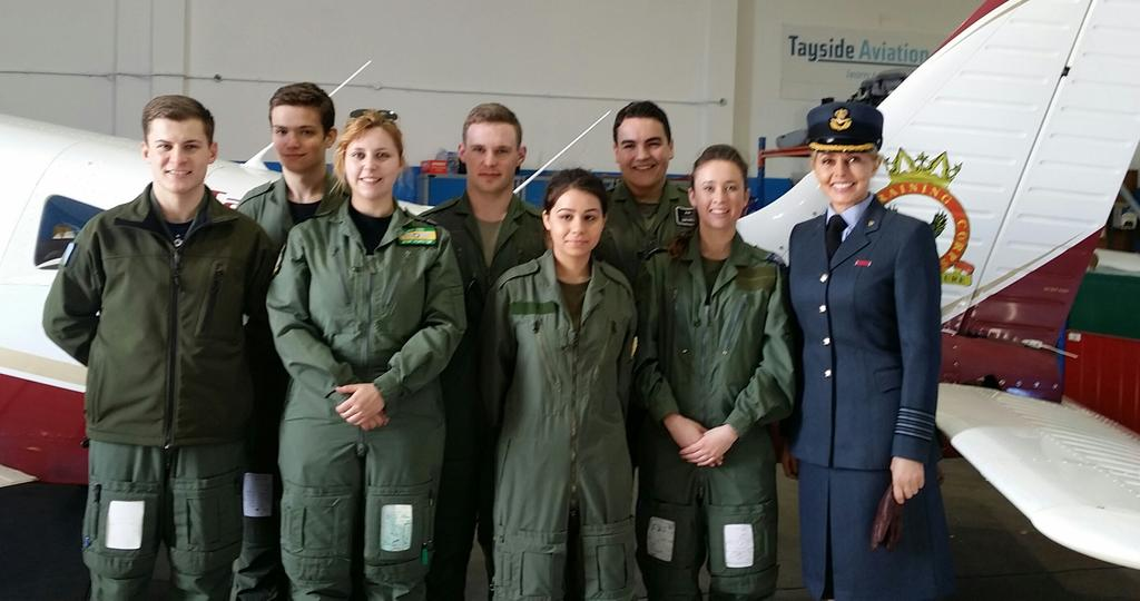 With wonderful @aircadets on Saturday, 4 had achieved their first solo that morning.. Huge celebrations x http://t.co/EYBHXgjijf