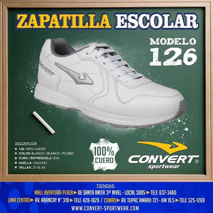zapatillas convert