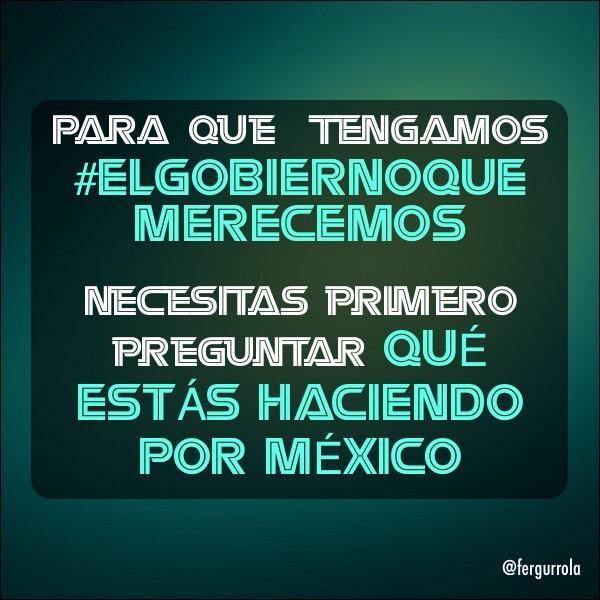 Estoy de acuerdo con Iñarritu, agregaria...  #ElGobiernoQueMerecemos http://t.co/iWIUo67kP3