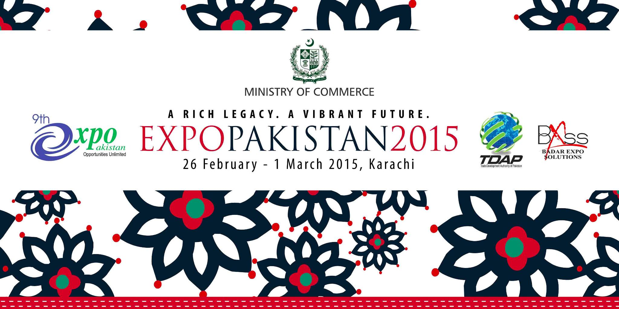Expo Pakistan 2015 - A Journey of Success By TDAP