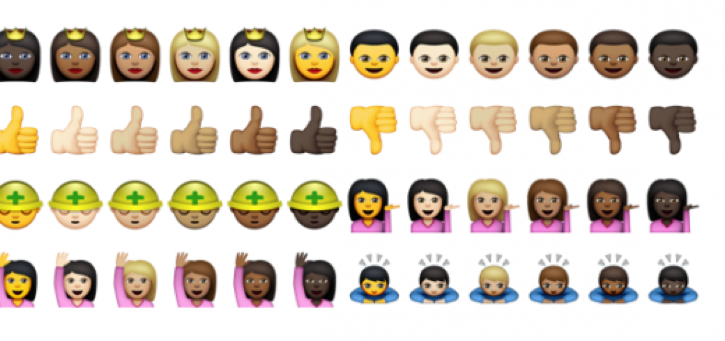 Emoji of color are coming in OS 10.10.3! http://t.co/6MO3fy0dMJ http://t.co/9DrwAB1Go5