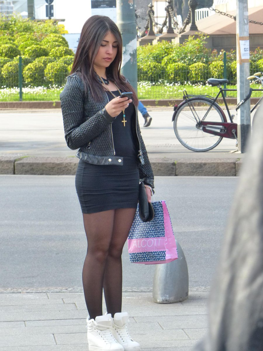 hot Amateur candid girl