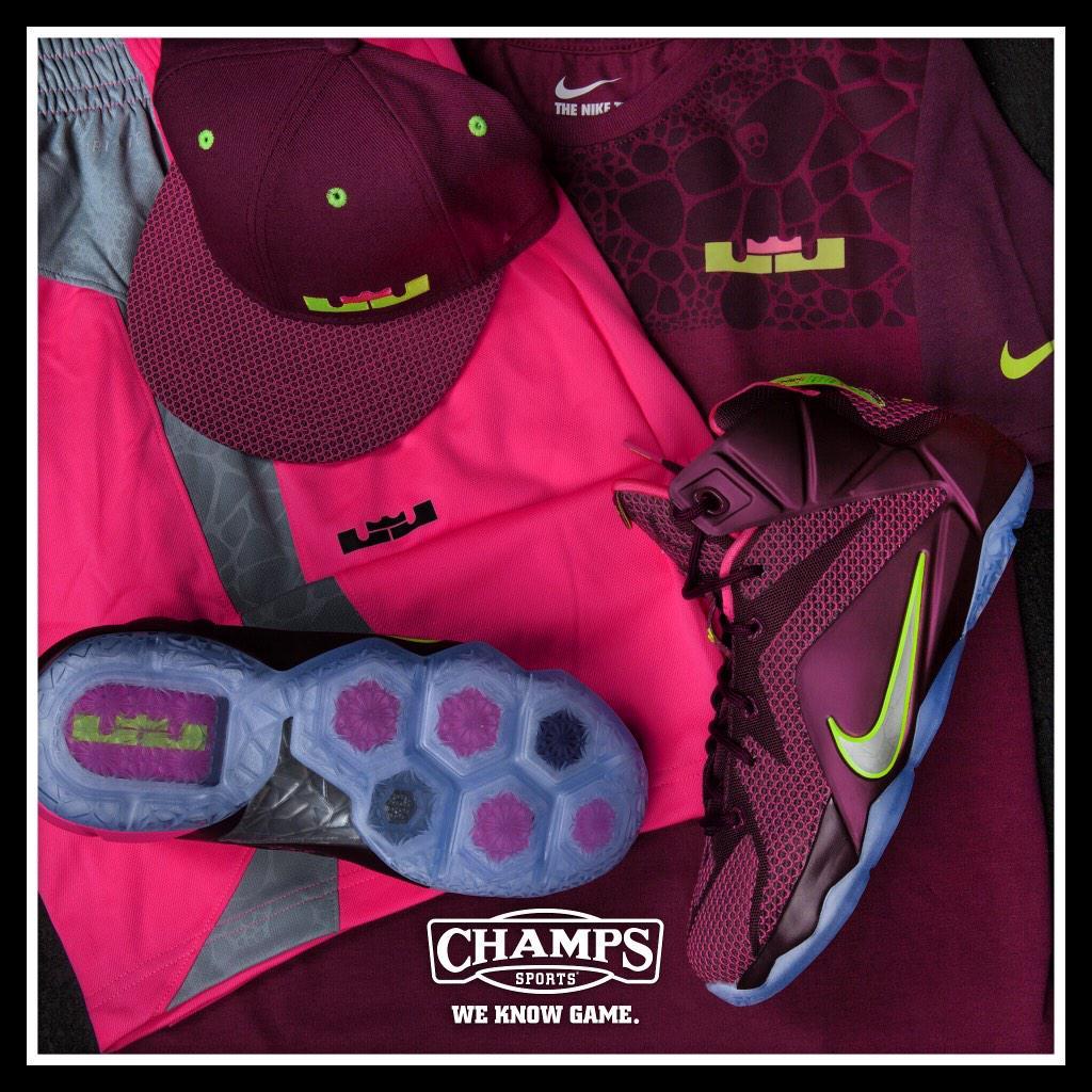 "b1512c6c ""@champssports: Nike LeBron 12"