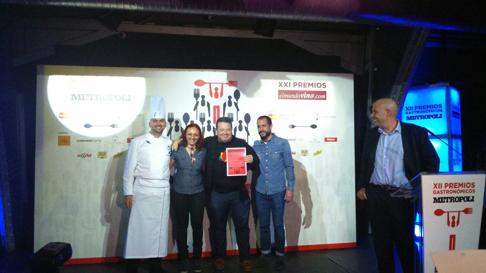 Premios Gastronómicos Metropoli