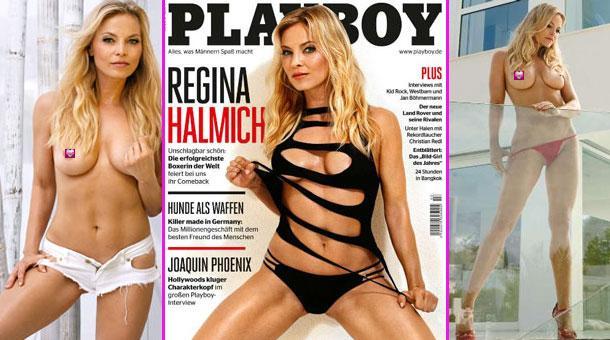 regina halmich playboy 2015