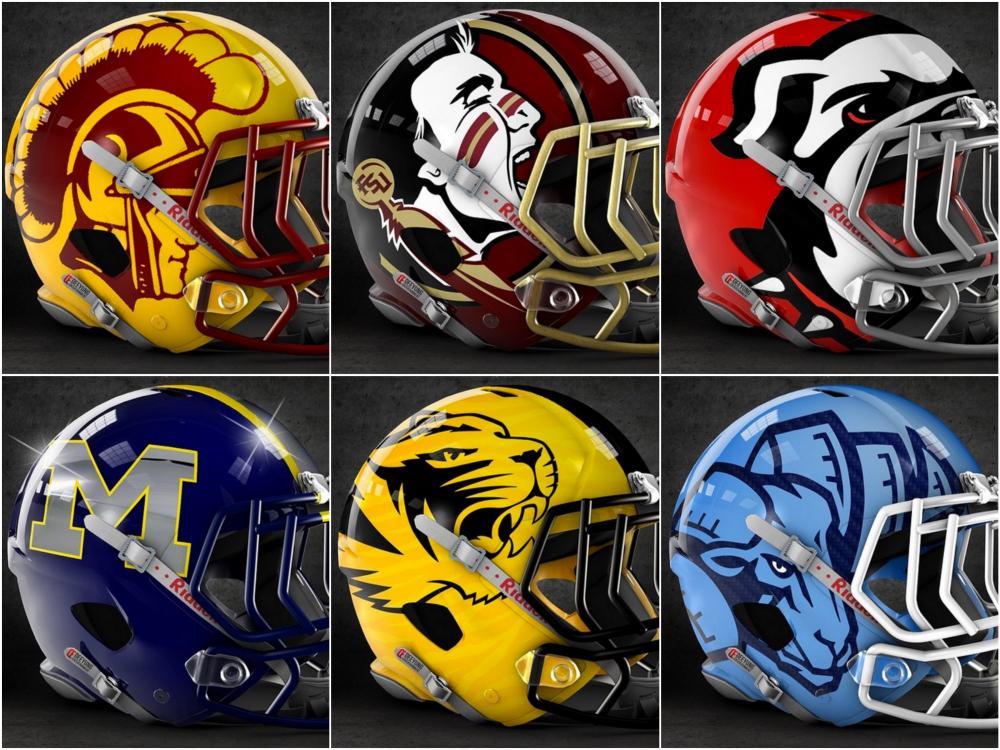 NFL Helmets  Collectible Team Helmets Autographed