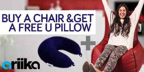 Buy a Chair & a Free U Pillow! Order your bean bag now! http://t.co/d2Bj82ax1G  #Ariika #BeanBags #Comfort #Quality http://t.co/N47HZpo6Vb